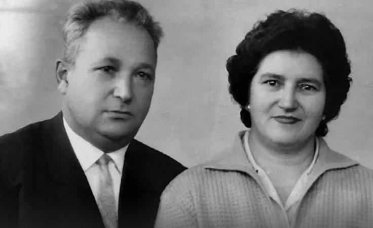 Александр Печерский с супругой Ольгой.