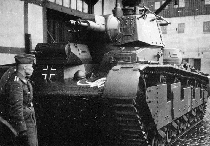 Средний экспериментальный танк Neubaufahrzeug (Nb.Fz.). 1940 г.