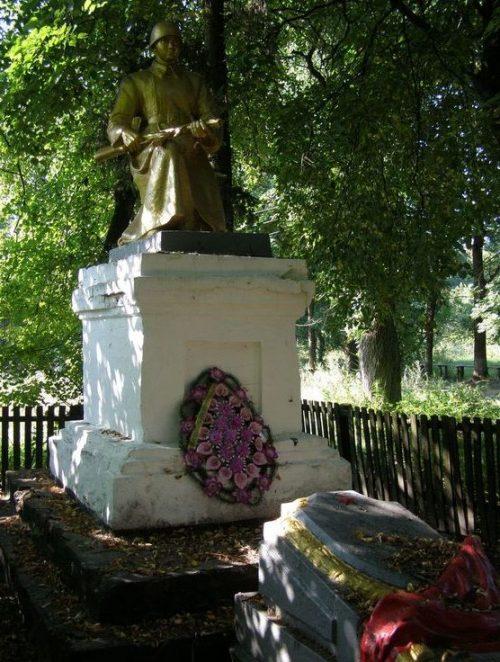 с. Пекарев Сосницкого р-на. Братская могила воинов, погибших при освобождении села.