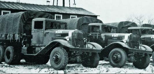 Бортовой грузовик Clydesdale-300. 1940 г.