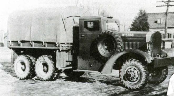 Грузовик Hug 51-6. 1940 г.