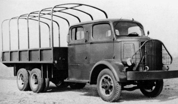 Грузовик Mack NB-1. 1940 г.