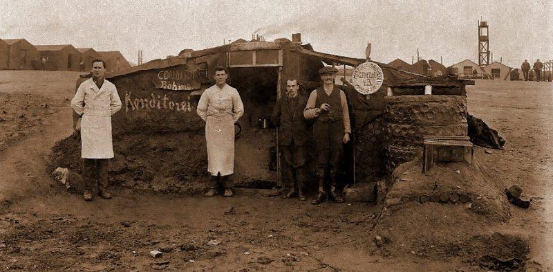 Плевая кухня в лагере Нокало.