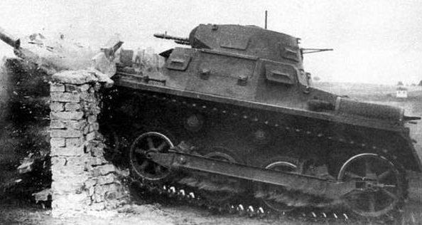 Танк Panzerkampfwagen I Ausf.A. Май 1941 г.