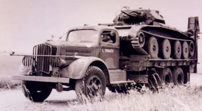 Грузовик White-920. 1940 г.