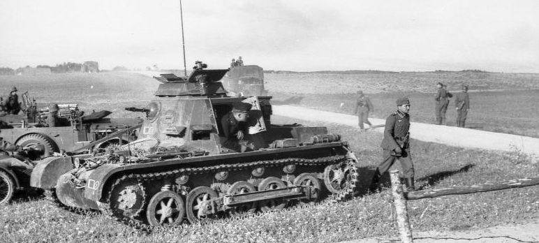 Командирский танк Kl.Pz.Bf.Wg. I Ausf. A. Июнь 1941 г.