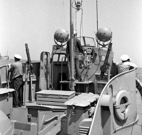 Патрульный катер в походе. 1942 г.