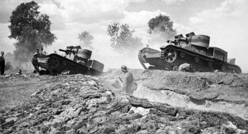 Легкие танки «Vickers Ew» в польской армии. Лето 1939 г.