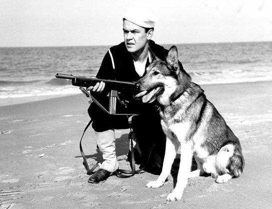 Матросы береговой охраны. 1942 г.