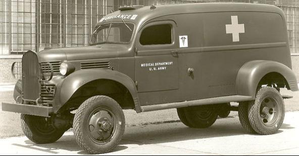 Санитарная машина Dodge VF-407. 1940 г.