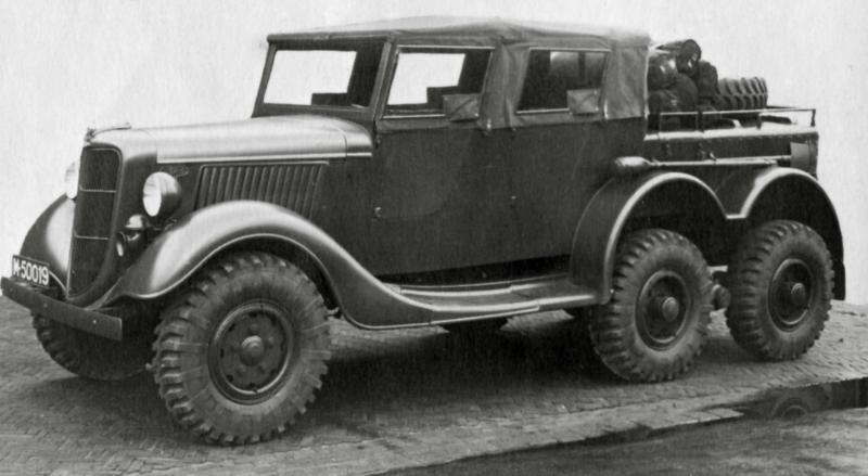 Командирский внедорожник Ford-DAF/Trado. 1940 г.
