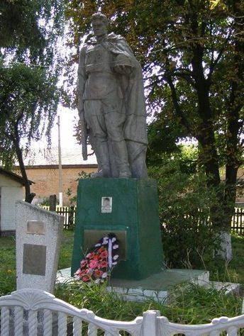с. Дремайловка Куликовского р-на. Памятник, установленный в 1958 году на братской могиле, в которой похоронено 6 неизвестных воинов, погибших в сентябре 1943 года.