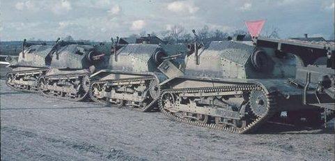 Танкетки польской армии. 1939 г.