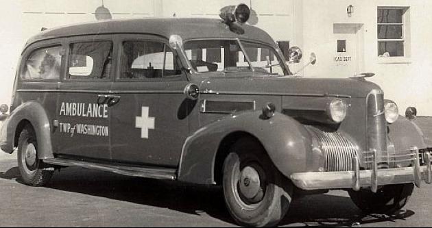 Санитарная машина La Salle 37-50 Metropolitan. 1940 г.