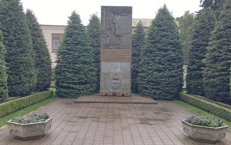 г. Ставрополь. Памятник сотрудникам и студентам Ставропольского государственного аграрного университета, погибшим в годы войны.