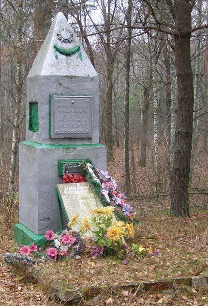 с. Выр Репкинского р-на. Братская могила воинов, умерших от ран в 489-м хирургическом полевом передвижном госпитале.