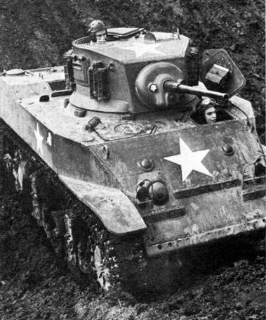 Легкий танк M5. 1941 г.