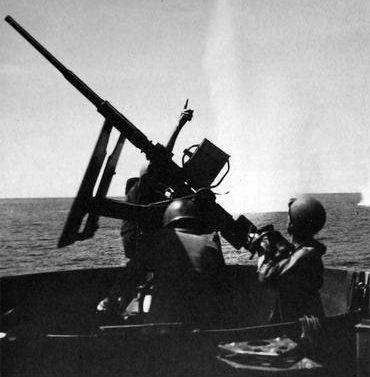 Береговая охрана США в бою. 1943 г.