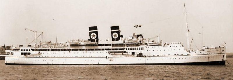 Британский лайнер «Арандора Стар».