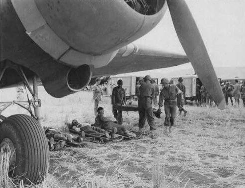 Эвакуация раненных в Агридженто. Сицилия, 1943 г.