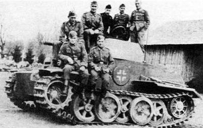 Легкий танк PzKpfw IIJ. 1941 г.