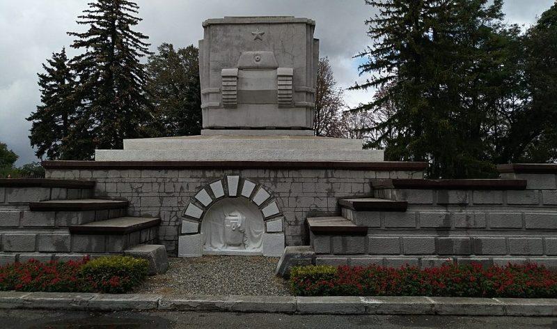 г. Ставрополь. Могила генерала И.Р. Апанасенко.