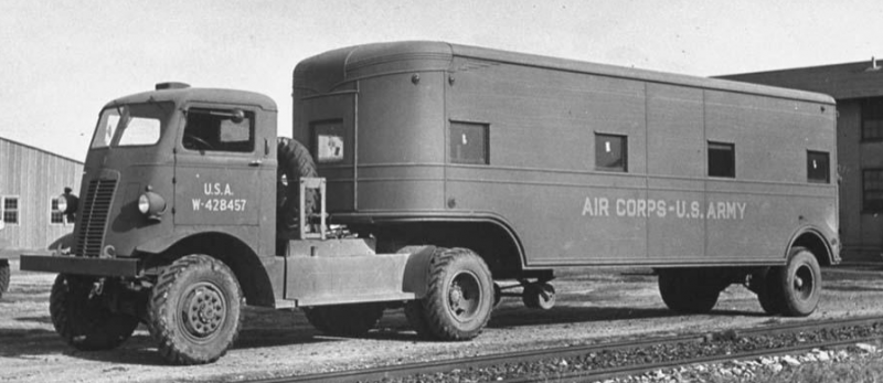 Седельный тягач U-4044Т. 1941 г.