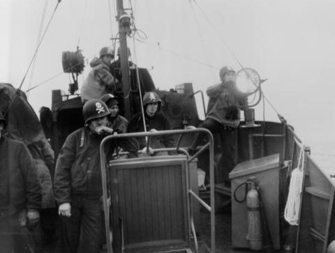 Экипаж USCG-6. Июнь 1944 г.