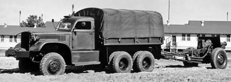 Бортовой грузовик Diamond Т-967. 1941 г.