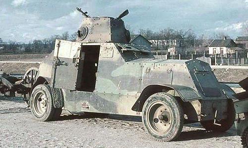 Польские бронемашины. 1939 г.