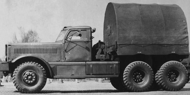 Балластный тягач Diamond Т-980. 1941 г.