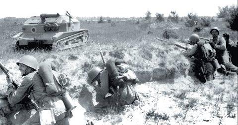 Маневры польской армии. 1939 г.