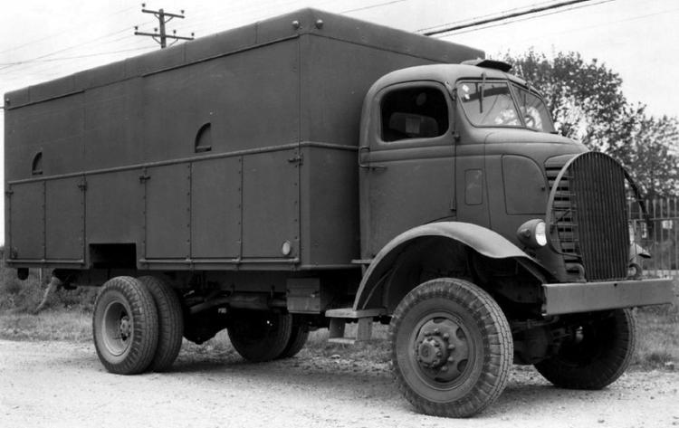 Фургон GMC AFKX-804. 1941 г.