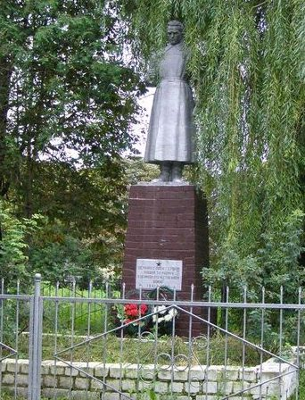 с. Салтыкова Девица Куликовского р-на. Памятник воинам-освободителям.