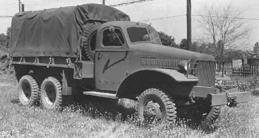 Грузовик International Harvester М-5Н-6. 1941 г.