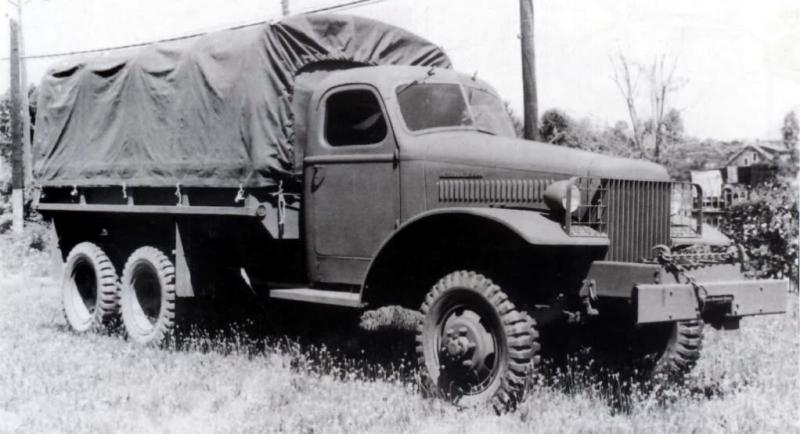 Бортовой грузовик International Harvester М-5-6 (6х4). 1941 г.