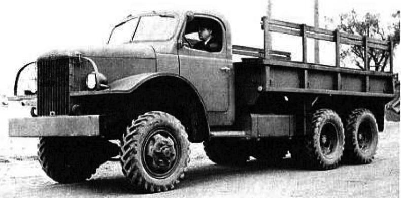 Грузовик REO 23-BHRS. 1941 г.