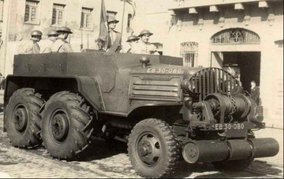 Тягач Minneapolis-Moline GTX-147. 1941 г.