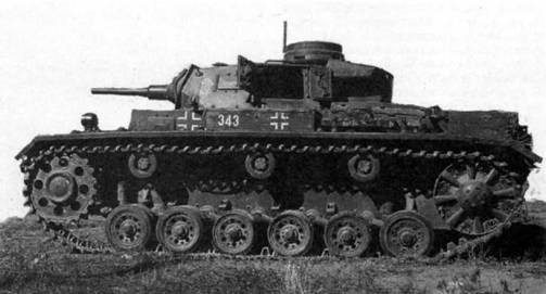Средний танк Pz.III Ausf.С. 1942 г.