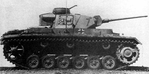 Средний танк Pz.III Ausf.L. 1942 г.