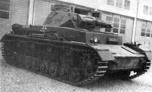 Средний танк Pz-IV Ausf.B. 1942 г.