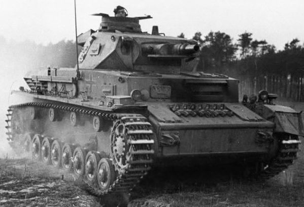 Средний танк Pz-IV Ausf.C. 1942 г.
