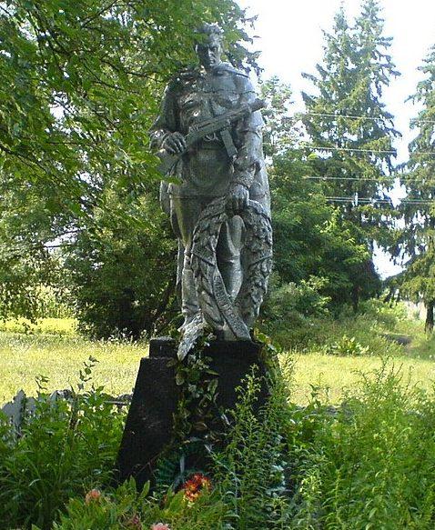 с. Адамовка Носовского р-на. Братская могила советских воинов, погибших в годы войны.