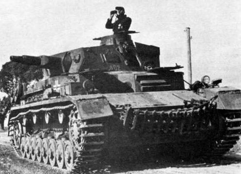 Средний танк Pz-IV Ausf.D. 1942 г.
