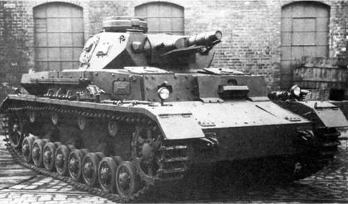 Средний танк Pz.IV Ausf. E. 1942 г.
