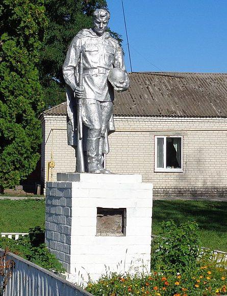 с. Коломийцевка Носовского р-на. Братская могила 11 советских воинов, погибших в сентябре 1941 года.