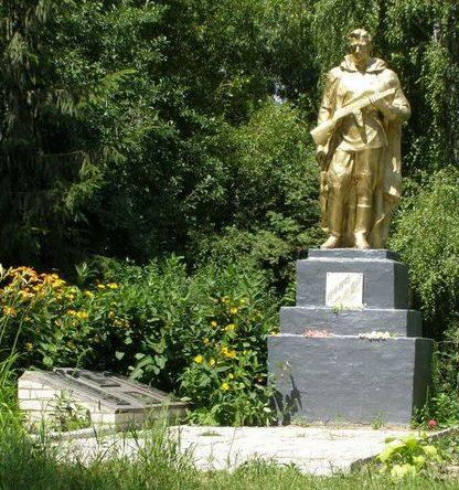 г. Носовка. Братская могила партизан и мирных жителей, погибших в годы войны.