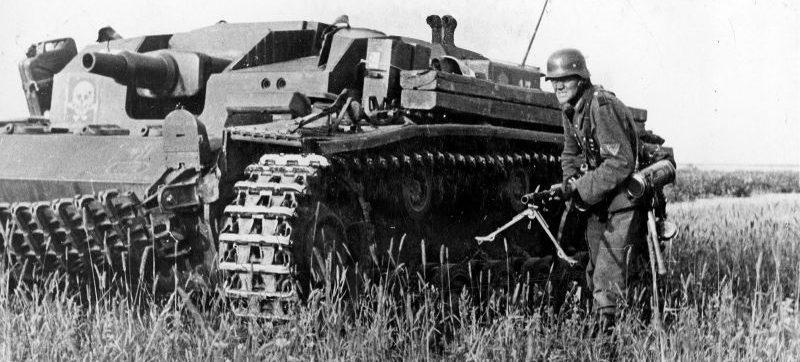 Штурмовое орудие StuG III Ausf. A на Восточном фронте. 1943 г.