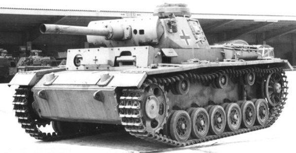 Средний огнеметный танк PzKpftv-III (Fl) Sd.Kfz.141/3. 1943 г.