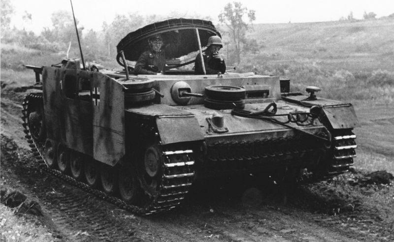 Транспортеры боеприпасов на базе танка Pz.Kpfw. III Mun. Schl. III Ausf. G. 1943 г.